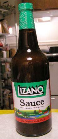 Lizano sauce